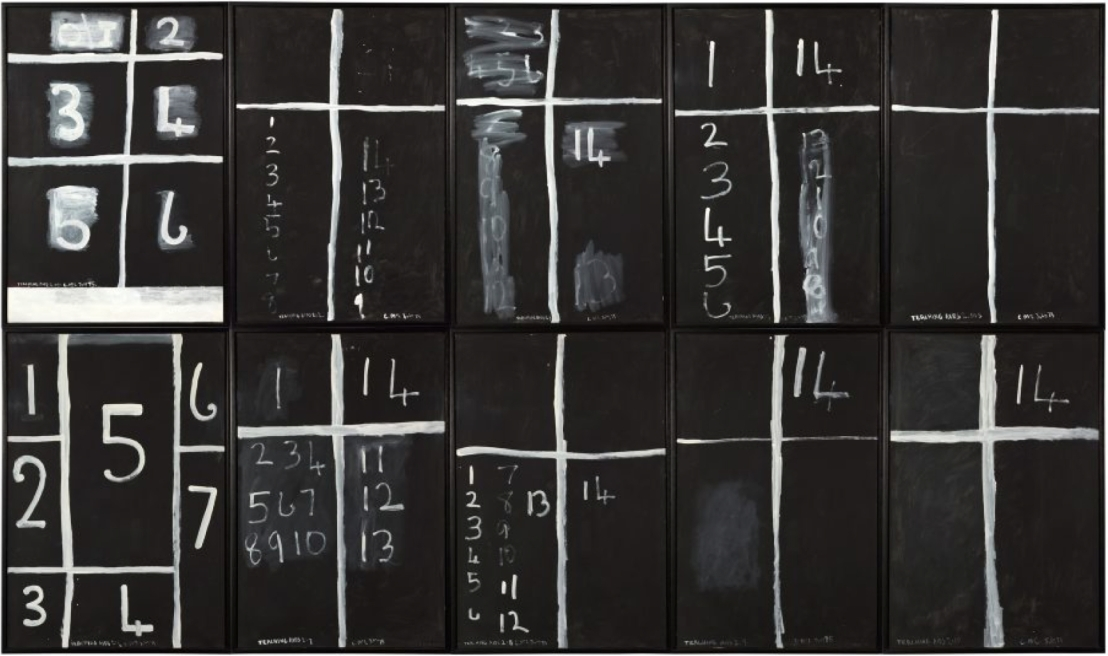 'Teaching Aids 2' by Colin McCahon